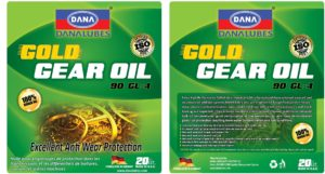 Gear oil for Machines