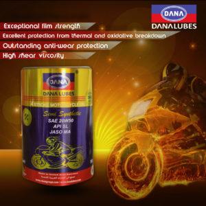 4T motorcycle engine oil by Dana Lubes Dubai UAE